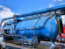Karoserie hydrocureur MABO 9m3 Saug u. Druck Kombi-Spüler Tank