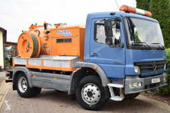 MERCEDES-BENZ - ATEGO 1018AK *4x4* RIONED KOMBI 3000L *124.000km* used sewer cleaner truck