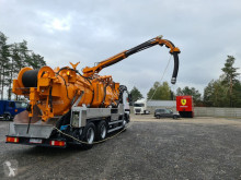 MERCEDES-BENZ WUKO KROLL Water recycling FOR CLEANING CHANNELS used sewer cleaner truck