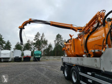 Sewer cleaner truck MERCEDES-BENZ - WUKO KROLL Water recycling FOR CLEANING CHANNELS