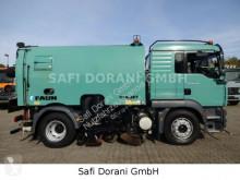 آلة لصيانة الطرق شاحنة مكنسة MAN 18.240 Kehrmaschine FAUN Viajet 6R/HS