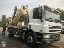 DAF CF75 250 used sewer cleaner truck