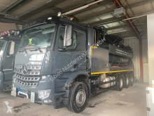 Mercedes Arocs 3251 Kombispüler Wiedemann 8x4 ADR/GGVS used sewer cleaner truck