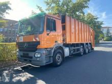 Maquinaria vial Mercedes 2541 8x2 Haller Müllwagen / Euro 5 camión volquete para residuos domésticos usado