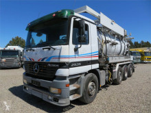Mercedes-Benz Actros 2535 8x2*6 Helmers 12.300 L used sewer cleaner truck