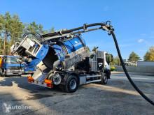 Maquinaria vial camión limpia fosas Iveco Trakker 2007 4X4 WUKO do zbierania odpadów płynnych