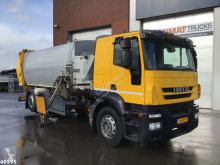 Iveco AT260 Haller 22m3 side loader used waste collection truck