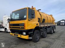 Maquinaria vial DAF CF 380 camión limpia fosas usado