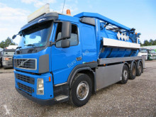 Volvo FM400 8x2*6 Euro 5 VM Tarm Rustfri ADR Slamsuger camion hydrocureur occasion