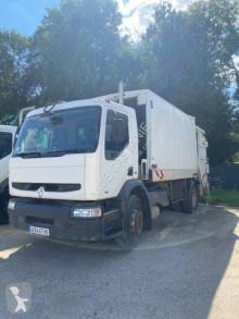 Maquinaria vial Renault Premium 270 DCI camión volquete para residuos domésticos usado