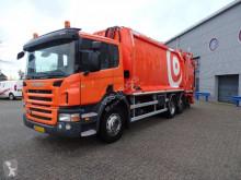 Scania P 280 lastbil med ske til husholdningsaffald brugt