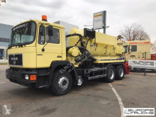 MAN sewer cleaner truck 27.372 Full steel - Vaccum - Toilet - 13000 L