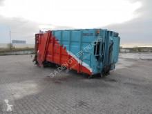 Achterlader lastbil med ske til husholdningsaffald brugt