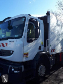 Renault Premium damaged waste collection truck