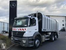 Mercedes Axor 2529 L 6x2 Müllfahrzeug Faun Rotopress 521L camión volquete para residuos domésticos usado