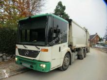 Maquinaria vial Mercedes 2629 Phönix 21cbm,EEV,3.Achse lenkbar+liftbar camión volquete para residuos domésticos usado