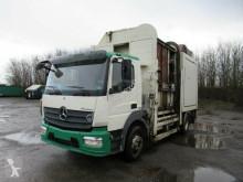 Mercedes 1624L 2 Kammer-Müllwagen, Euro 6 tippvagn för sopor begagnad