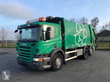 斯堪尼亚 P380 6X2 GARBAGE STEERING AXLE JOAB 1 ROOM EURO 5 垃圾处理车 二手
