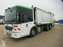 Maquinaria vial Mercedes 2629 21 cbm Phönix, EEV 3.Achse liftbar+drehbar camión volquete para residuos domésticos usado