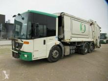 Maquinaria vial Mercedes 2629 21 cbm Phönix Bluetec EEV 3.Achse lenk+lift camión volquete para residuos domésticos usado