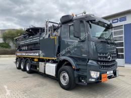 Maquinaria vial camión limpia fosas Mercedes Arocs 3251 Kombispüler Wiedemann 8x4 ADR/GGVS