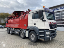MAN TGS 35.480 8x4 Kanalreiniger Wiedemann 17000 L used sewer cleaner truck