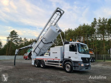 MERCEDES-BENZ ACTROS 6x4 MULLER MÜLLER WUKO for collecting liquid waste from s spolfordon begagnad