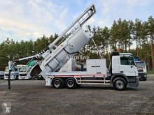 MERCEDES-BENZ ACTROS 6x4 MULLER MÜLLER WUKO for collecting liquid waste from s used sewer cleaner truck