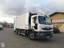Maquinaria vial Renault Premium garbage truck damaged camión volquete para residuos domésticos usado