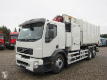 Lastbil med ske til husholdningsaffald Volvo FE260 6x2 VDL Translift Varia IES