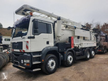 MAN TGA used sewer cleaner truck
