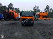 Gemeentevoertuig MERCEDES-BENZ ACTROS 2636 6x4 WUKO + MUT SAND MACHINE FOR CHANNEL CLEANING