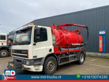 DAF CF 75.250 used sewer cleaner truck