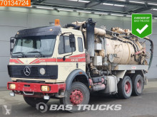 Mercedes 2635 K V8 Manual Big-Axle Steelsuspension Pompe camión limpia fosas usado