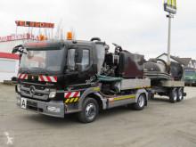 Maquinaria vial Mercedes Atego 1024 K Saug + Spülwagen Saug+Spülwagen camión limpia fosas usado