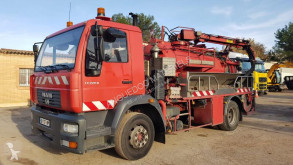 MAN sewer cleaner truck LE 220 B