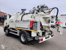 Maquinaria vial camión limpia fosas MAN TGM 18.280