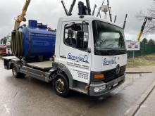 Maquinaria vial Mercedes Atego 815 camión limpia fosas usado