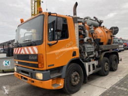 DAF sewer cleaner truck CF75