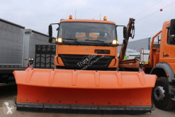 Mercedes snow plough-salt spreader Axor 1833