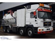 Каналопочистващ камион MAN 32.462, Euro 2, Retarder, Manuel, Fico Vacuum + Pressure, Truckcenter Apeldoorn