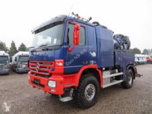 Maquinaria vial camión limpia fosas Mercedes-Benz Actros 2041 4x4 FFG Elephant 2000 Euro 5