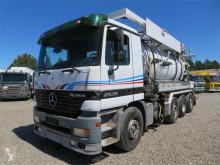 Maquinaria vial camión limpia fosas Mercedes-Benz Actros 2535 8x2*6 Helmers 12.300 L