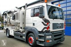 Maquinaria vial camión limpia fosas MAN TGA 18.310 4x2 Müller 8m³ Saug+Druck HD-Spüler
