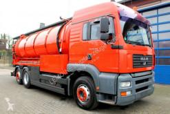 Maquinaria vial camión limpia fosas MAN TGA 26.460 6x2 Müller 15,5m³ Saug u.Spül V2A