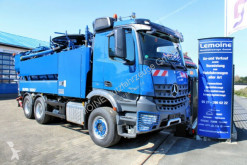 Mercedes 2642 6x4 Arocs Wiedemann 12m³ Super 1000 Kombi camion autospurgo usato