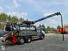 Scania CAPPELLOTTO CAPCOMBI 2600 VACUUM CLEANER used sewer cleaner truck