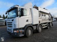 Maquinaria vial camión limpia fosas Scania L G480 8x2*6 FFG Eephant 14.000