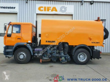 MAN road sweeper 18.280 Faun Viajet Besen Links/Rechts/Hecksauger