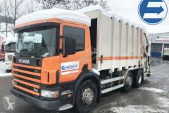 Scania P94DB6x2/4 camion benne à ordures ménagères occasion